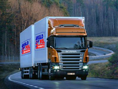 Medium sized truck